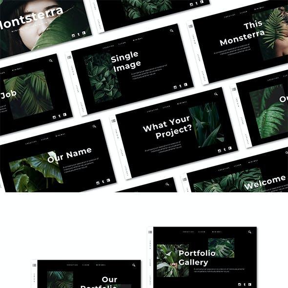 Monsterra - Google Slide Template