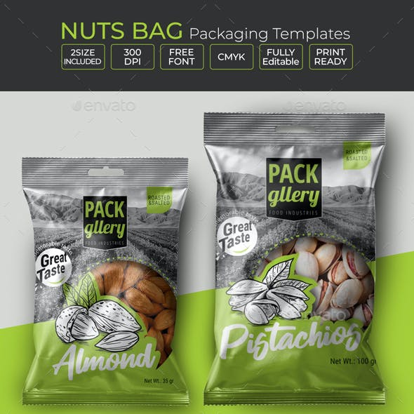 Nuts Bag Template