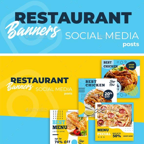 Food - Social Media Post Template
