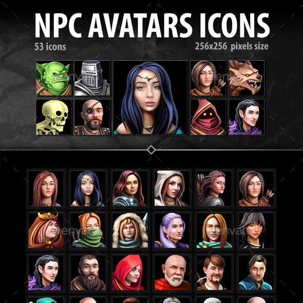 NPC Avatar Icons
