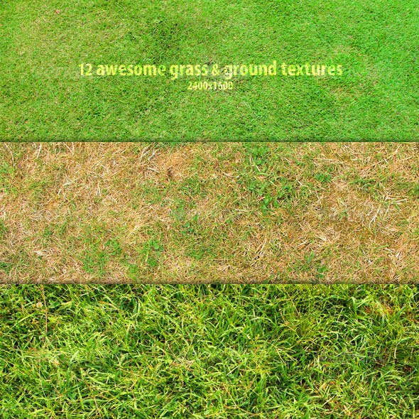 12 Grass & Ground Textures