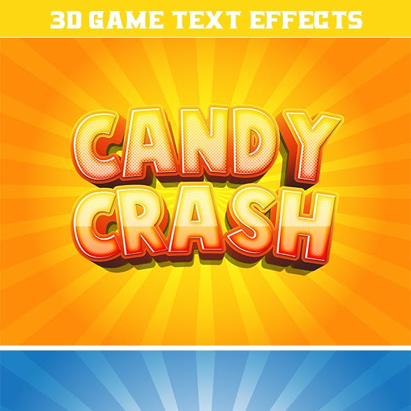 3D Game Text Effects for Illustrator