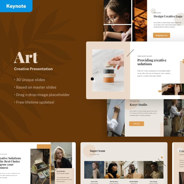 Art - Creative Keynote Presentation