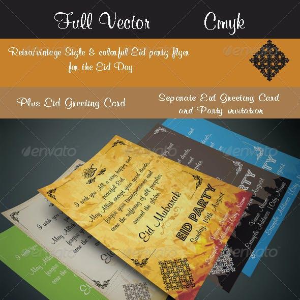 Eid Greeting Card-Design 1001