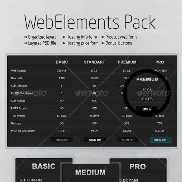 WebElements Pack v.1