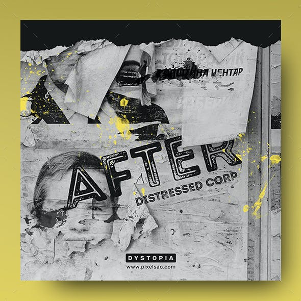 After – Music Album Cover Artwork / Video Thumbnail Template