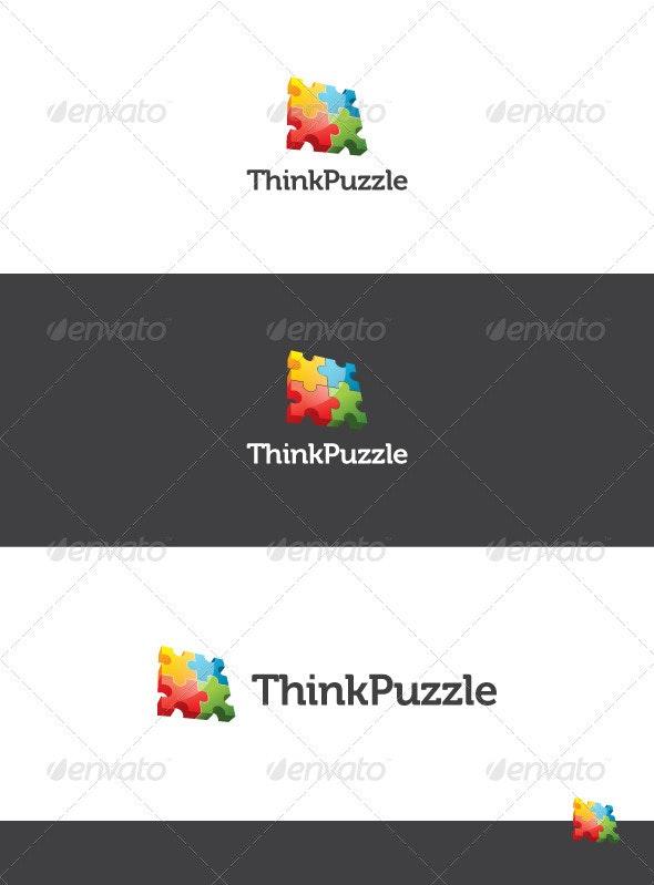 Think Puzzle Logo Template - Symbols Logo Templates