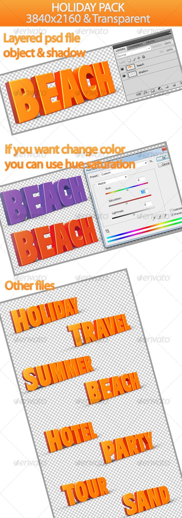 Holiday Pack - Miscellaneous 3D Renders