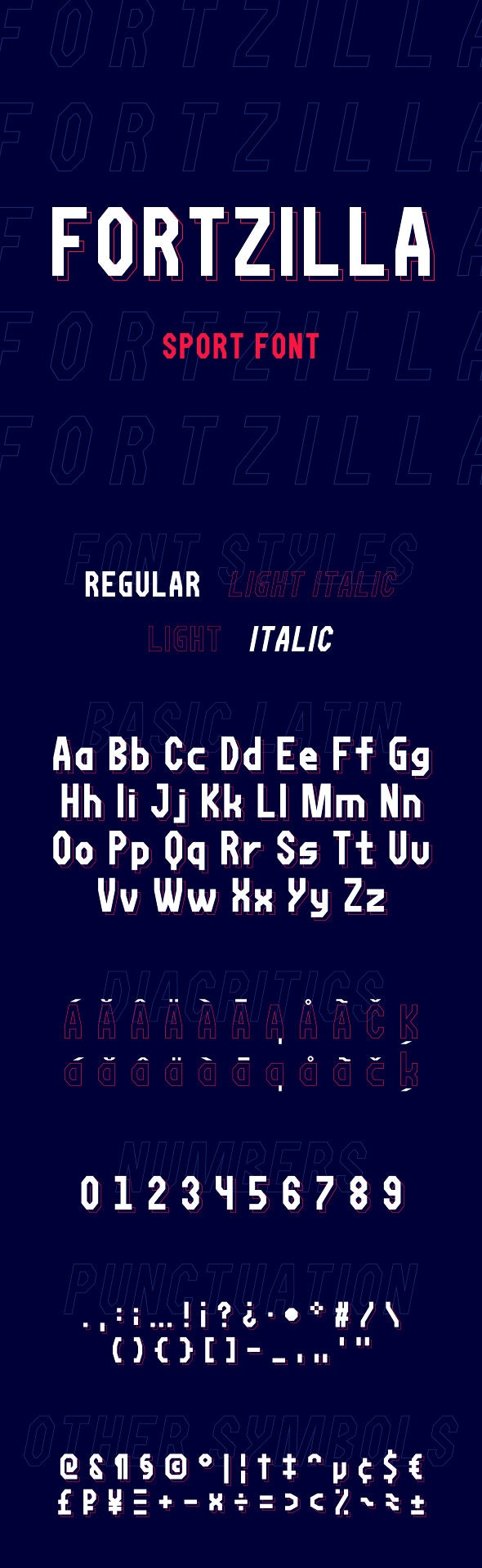 Fortzilla Font - Miscellaneous Sans-Serif