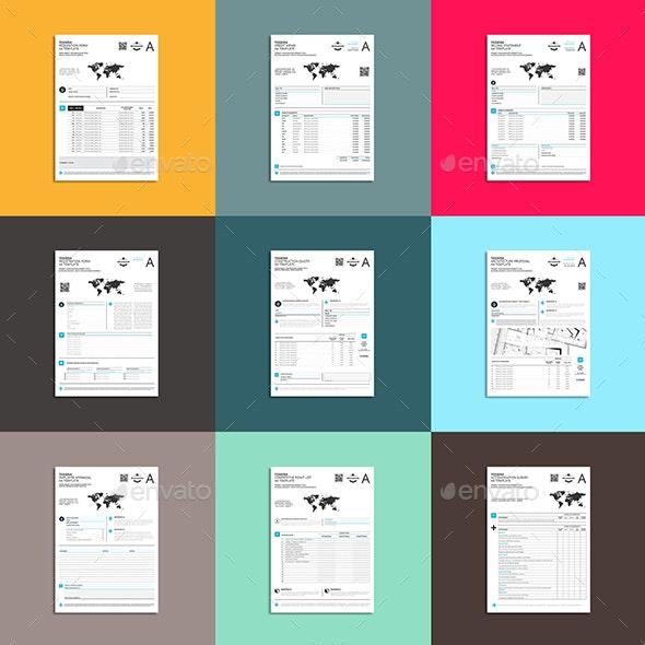 Tessera BOX II - Stationery Print Templates