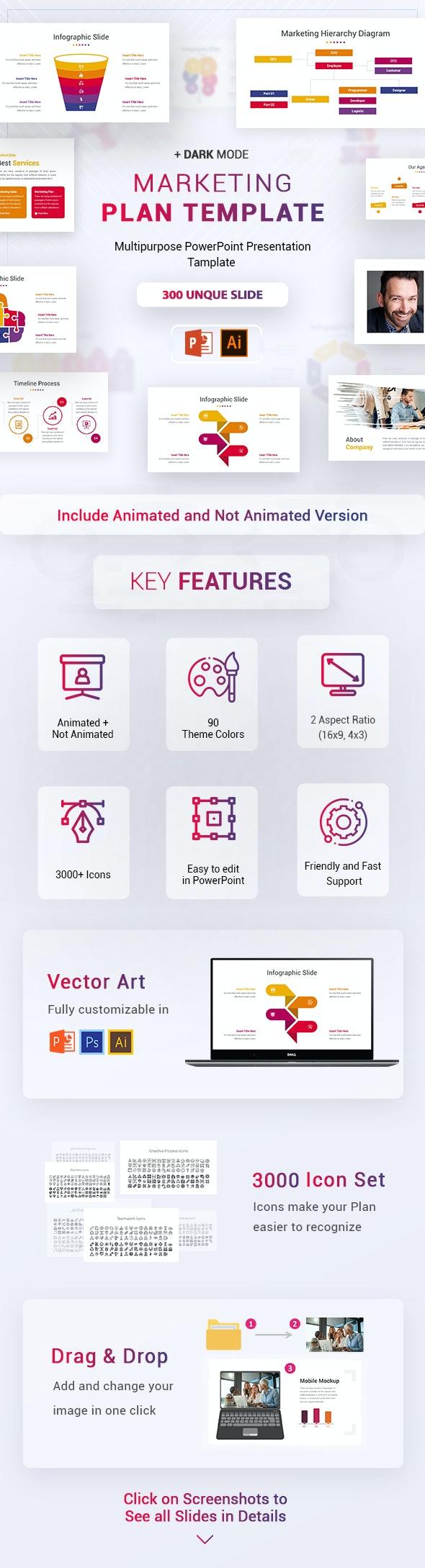 Marketing Plan Template - Business PowerPoint Templates