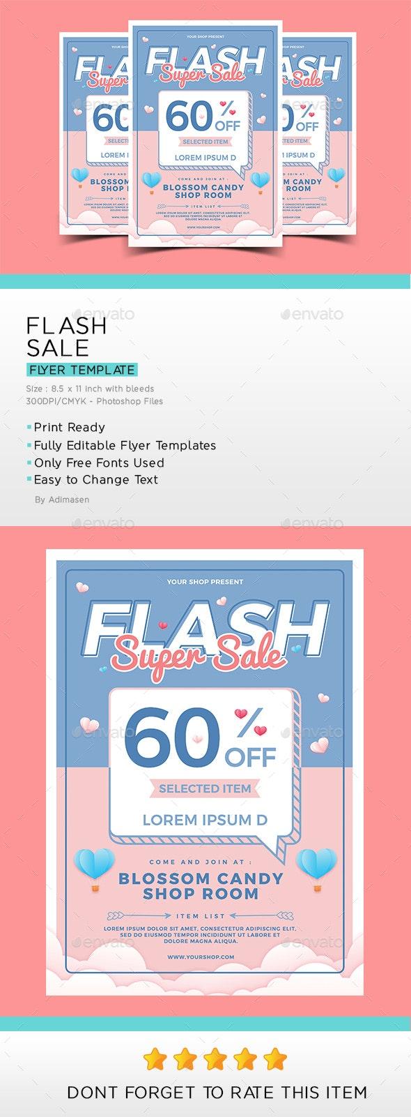Flash sale Flyer - Flyers Print Templates