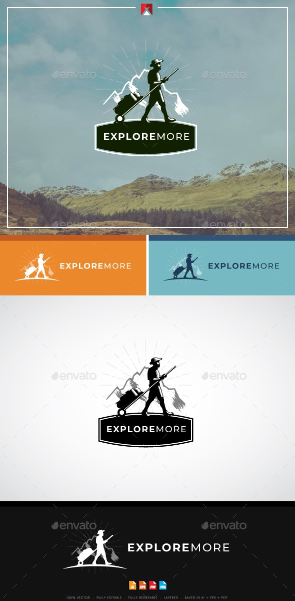 Explore More Logo - Nature Logo Templates