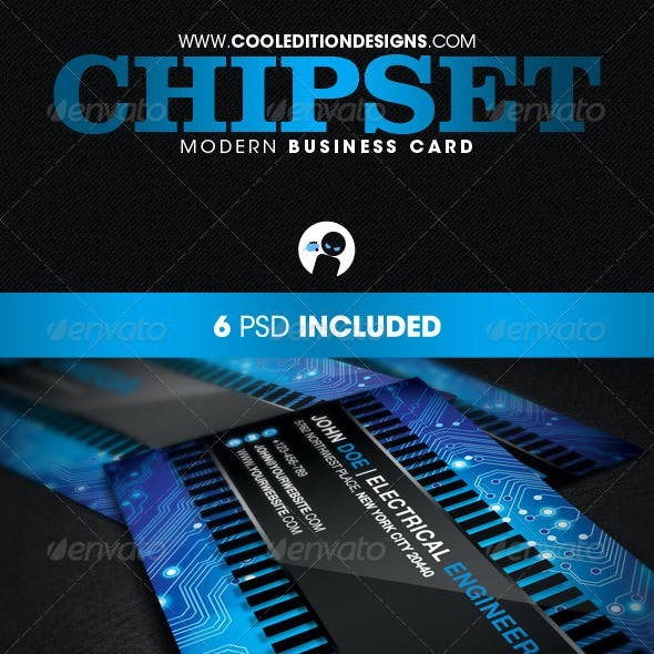 Chipset Modern - Business Card