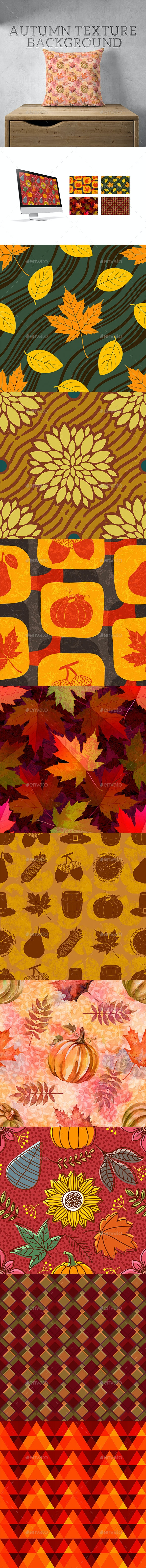 Autumn Texture Background - Patterns Backgrounds
