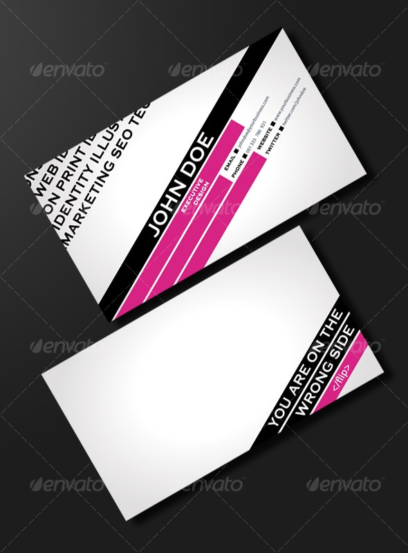 FASHION & TRENDY BUSINESS CARD - Creative Business Cards