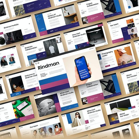Rindman – Business PowerPoint Template