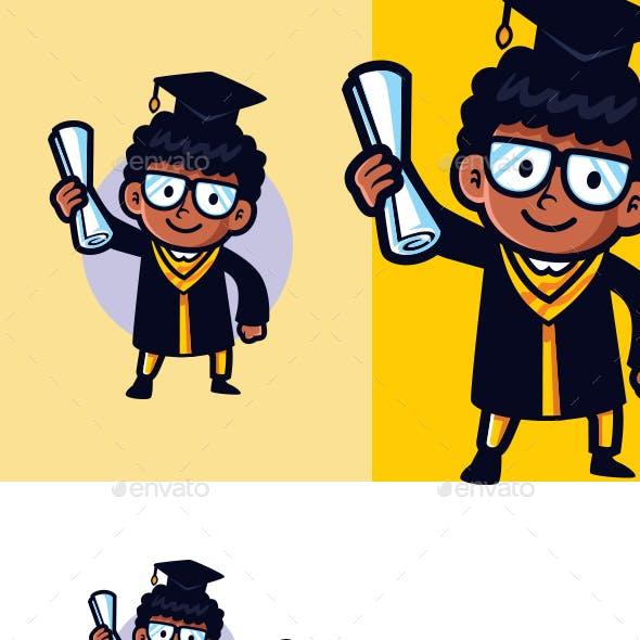 Graduates Mascot Logo