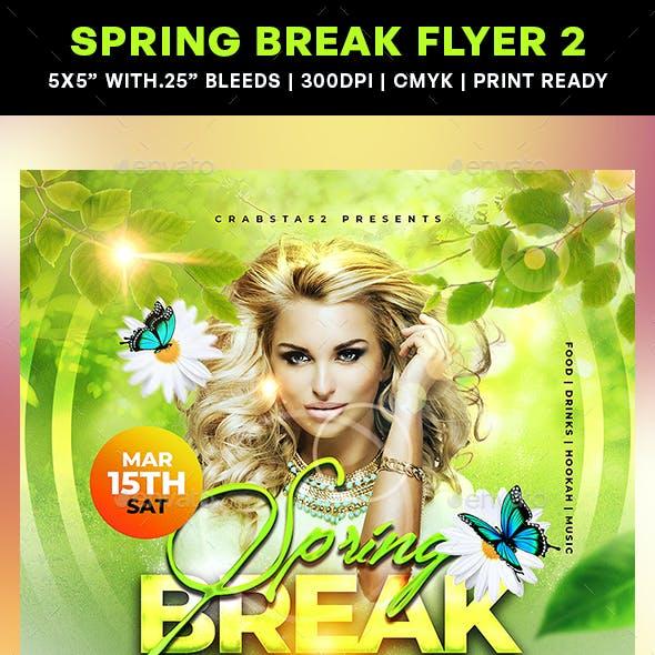Spring Break Flyer 2