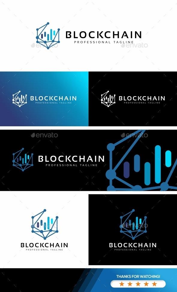 Blockchain Logo - Abstract Logo Templates