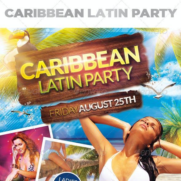 Caribbean Latin Party + Facebook Cover