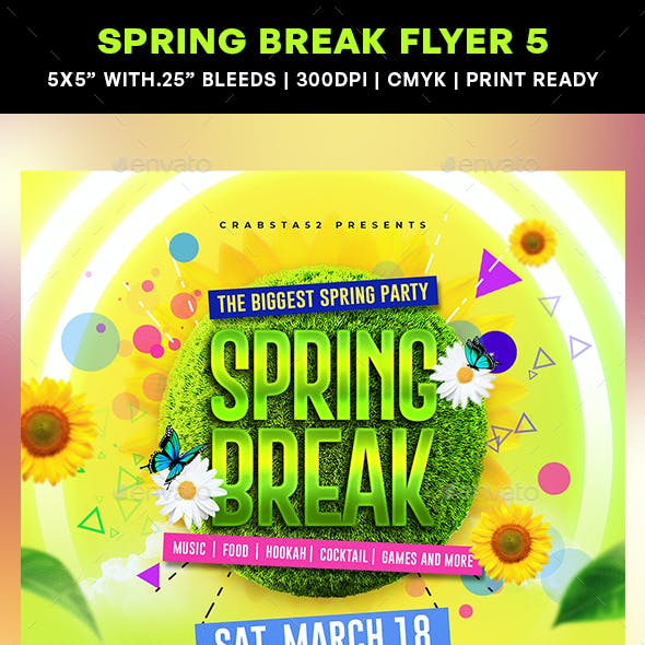 Spring Break Flyer 5