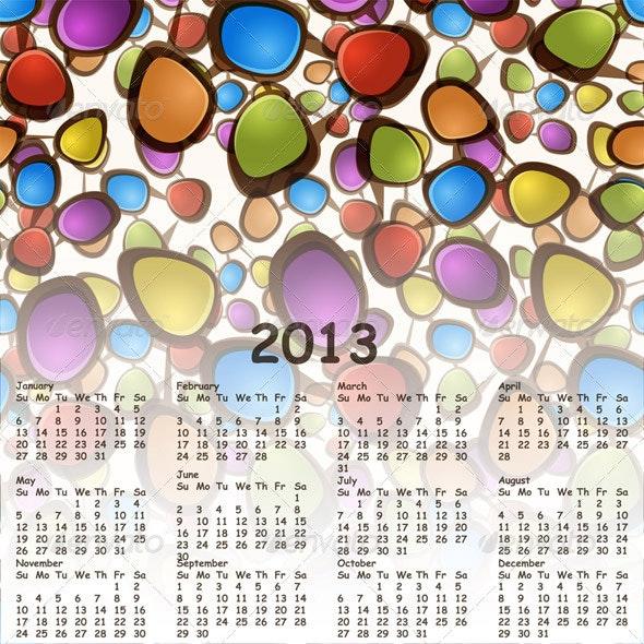 2013 Calendar - New Year Seasons/Holidays