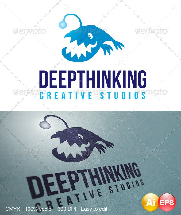 Deepthinking Logo - Animals Logo Templates
