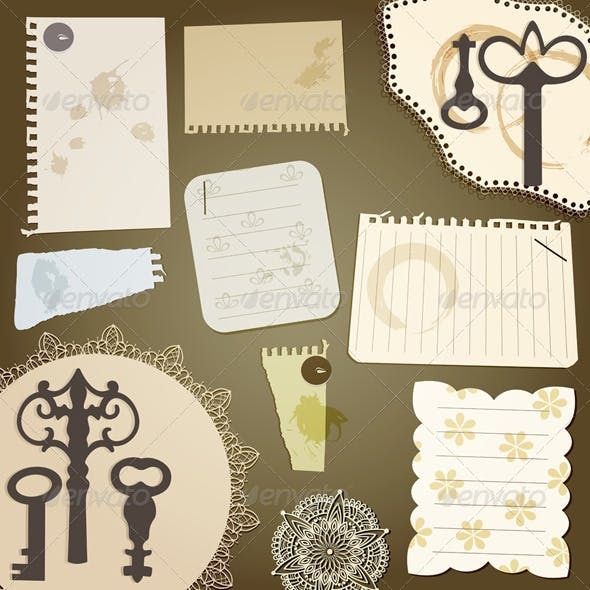 Vecto Scrapbook Design Elements