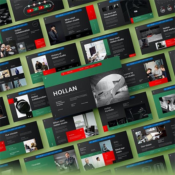 Hollan – Business PowerPoint Template