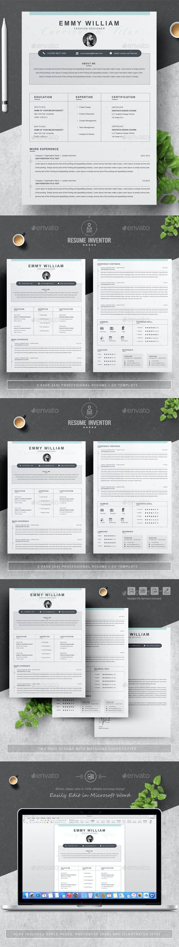 Fashion Designer Resume - Resumes Stationery