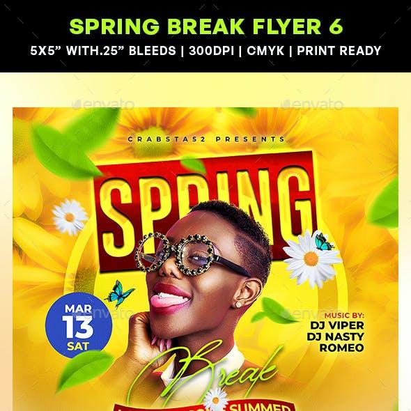 Spring Break Flyer 6