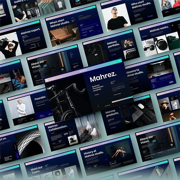Mahrez – Business PowerPoint Template