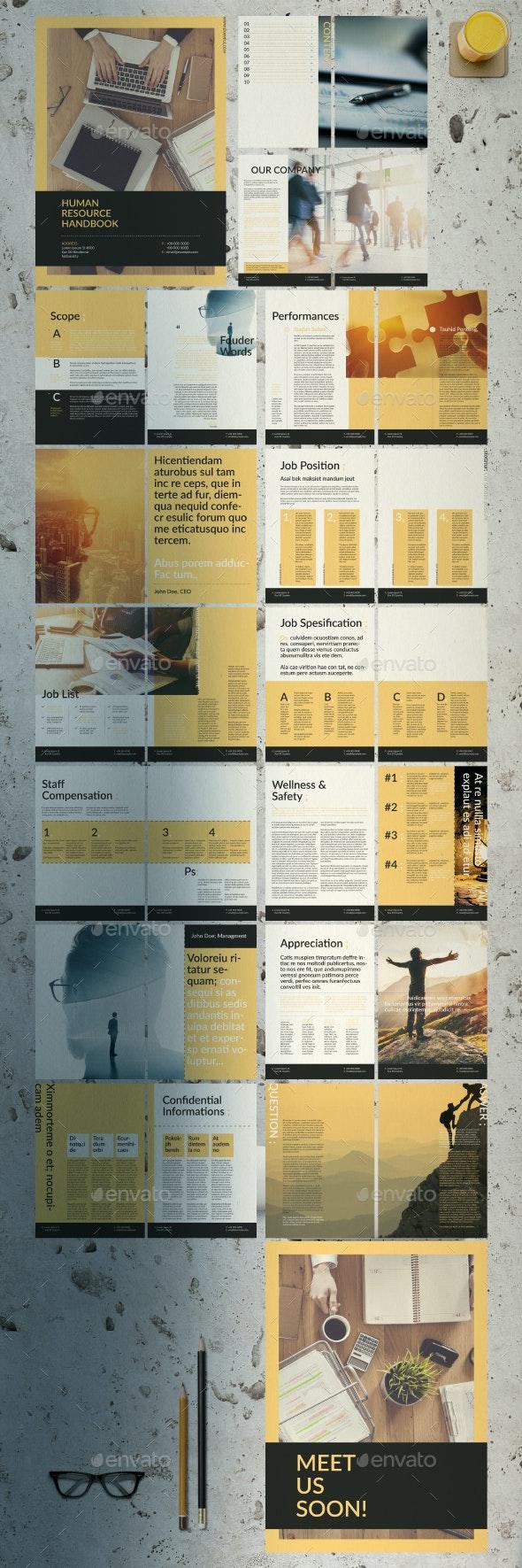 Human Resource Handbook - Corporate Brochures
