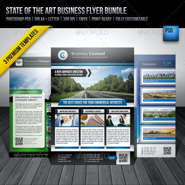 State of the Art Business Flyer Bundle