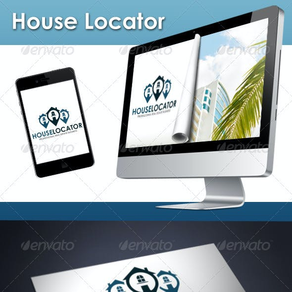 Real Estate Locator Logo