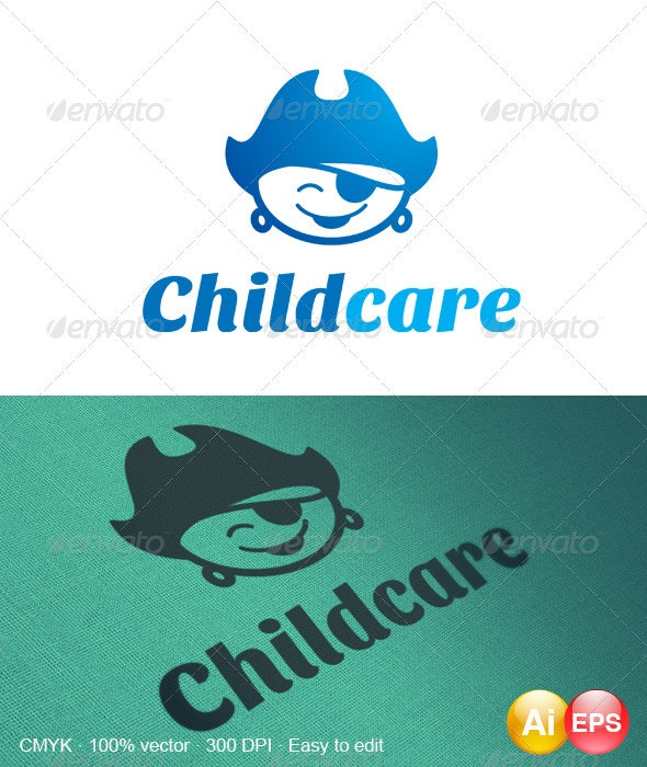 Childcare Logo - Humans Logo Templates
