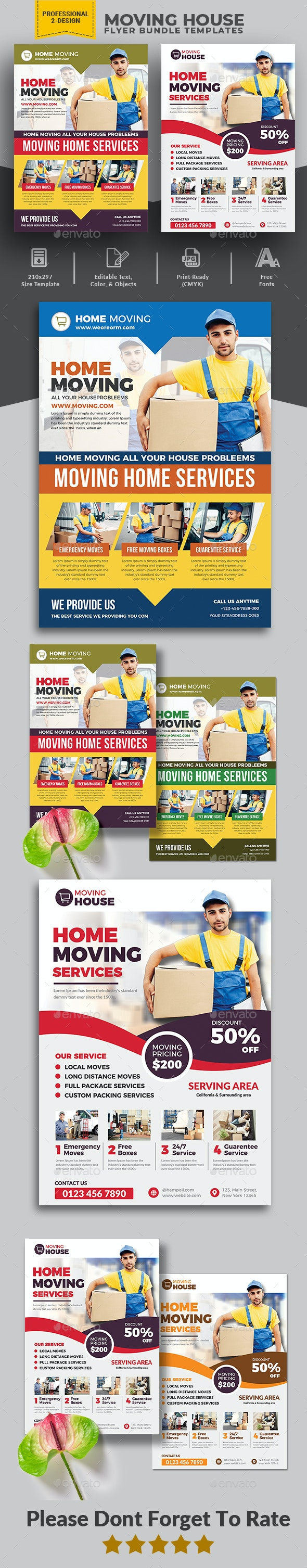 Moving House Flyer Bundle - Corporate Flyers