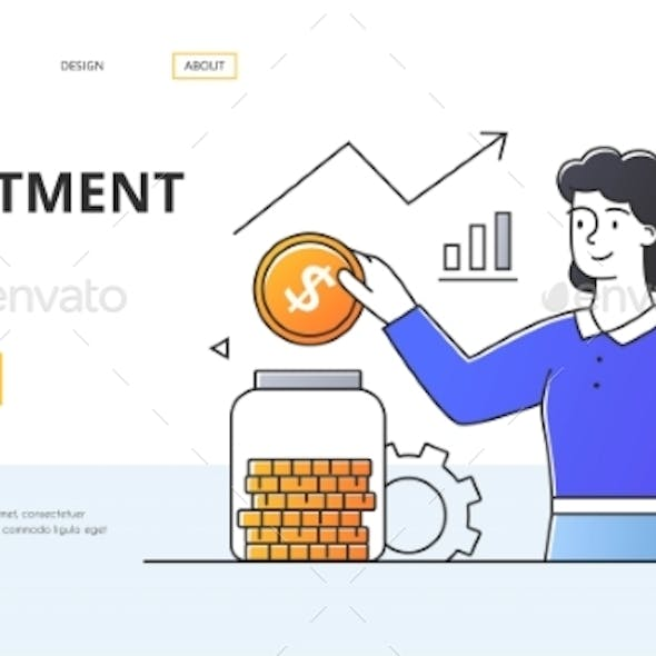 Investment Fund Business Concept