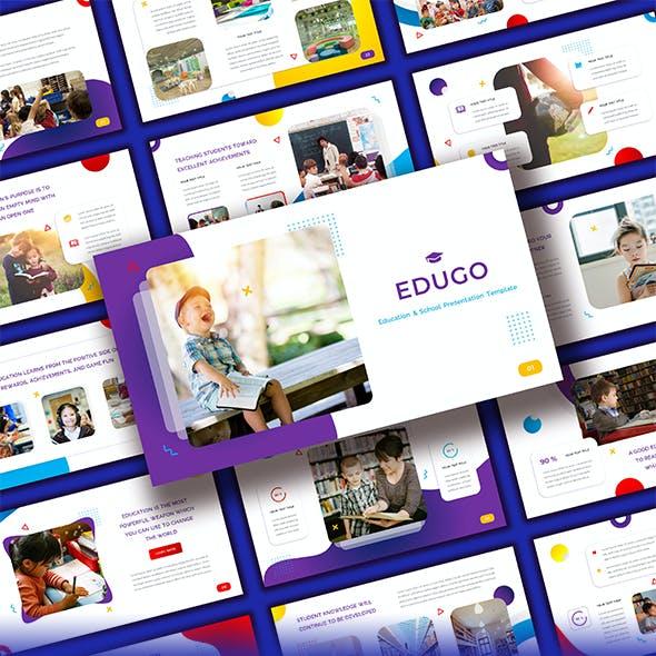 Edugo - Education & School Powerpoint Template