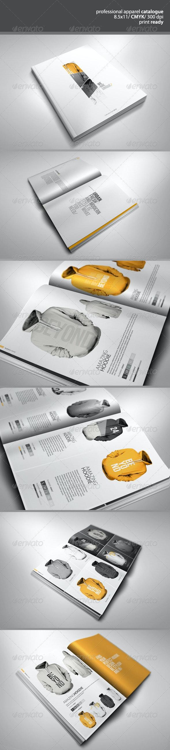 Professional Apparel Catalogue - Catalogs Brochures