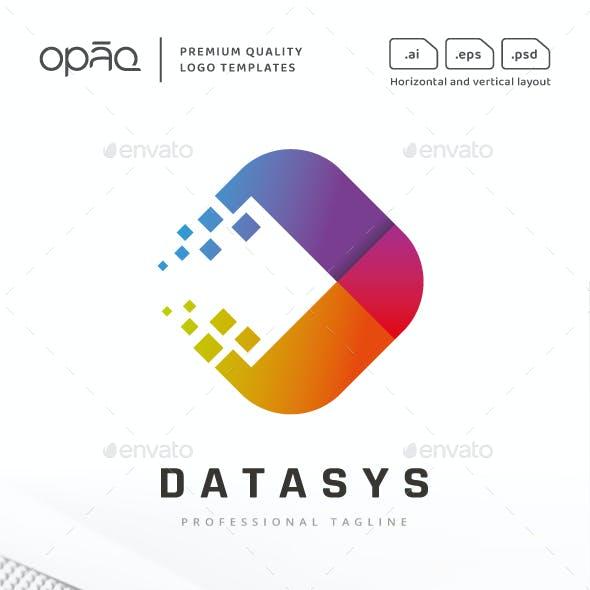 Abstract Technologies Pixel Logo