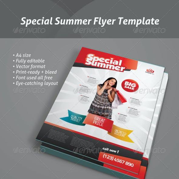 Special Summer - Modern Corporate Flyer