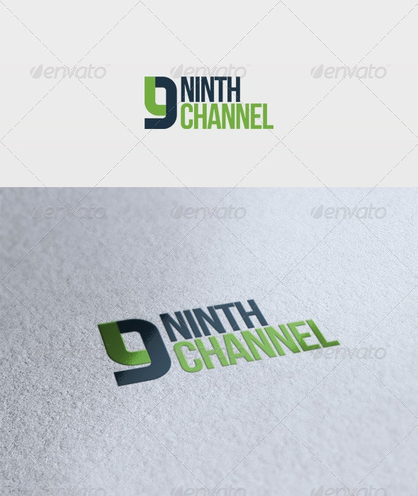 Ninth Channel Logo - Numbers Logo Templates