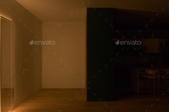 Realistic 3D Computer Visualization of the - Objects 3D Renders