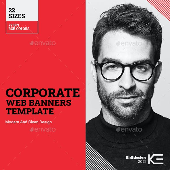 Corporate Web Ad Banners