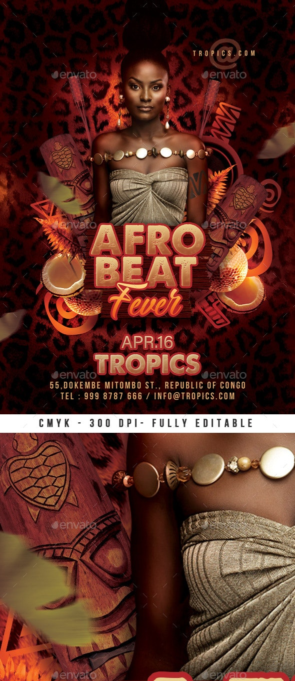 Afro Beat Flyer