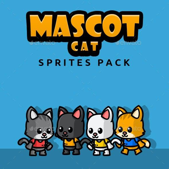 Mascot Cat Sprites Pack