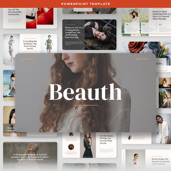 Beauth - Fashion and Beauty PowerPoint Template