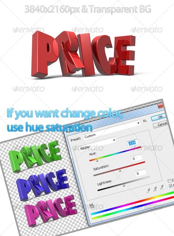 Price - Miscellaneous 3D Renders